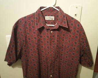 Vintage Men's Dress Shirt