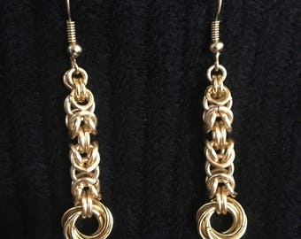 Byzantine Dangle Earrings