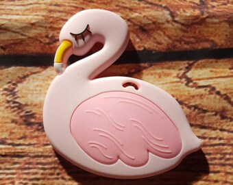 FLAMENT pink teething toy