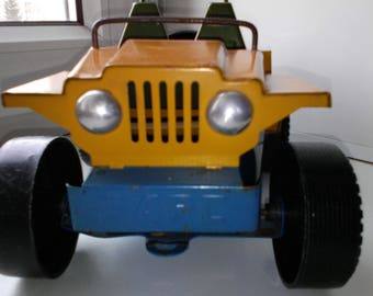"Toy machine ""Leopard"" metal (USSR)"