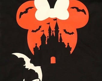 Disney halloween shirt, disney castle shirt, mnsshp, disney vacation