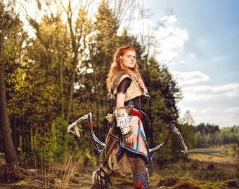 Aloy (Horizon Zero Dawn) Print by Skunk and Weasel