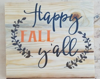 Happy Fall Y'all