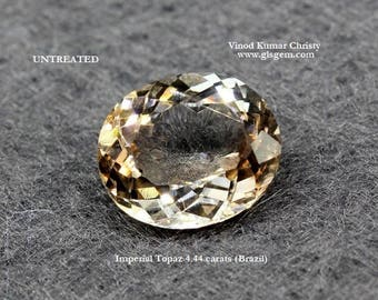 Imperial Topaz 4.44cts