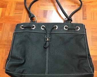 Alfred Dunner Leather Handbag