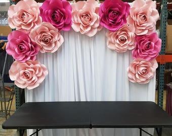PAPER FLOWERS -ROSES