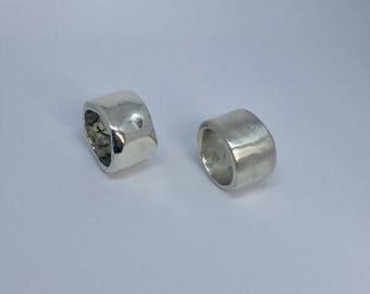 Silver Iris Ring