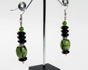 Green Glass Beads(DF/ER/NO47)