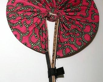 Ankara Foldable Hand fan