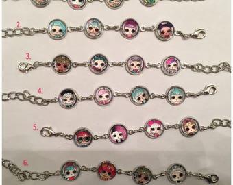 New LOL Surprise Doll charm bracelets