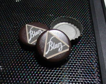 Fallout series Bottlecaps - Blam Cola - Brown - 10pcs