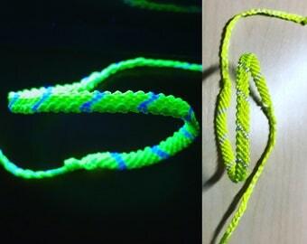 Knot bracelet NEON