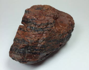 Raw MAHOGANY OBSIDIAN Crystal - Rough Stone - Volcanic glass - Natural - Unpolished - Old Stock - Collecting Stone - Healing Crystal - 315g
