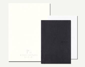 Sketchbook, Qeelin, Shanghai Tang - blank notebook, plain notebook, pocket notebook, hardcover, cardboard, notebook set, minimal notebook