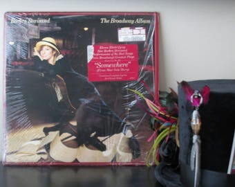 Barbara Streisand The Broadway Album - used records