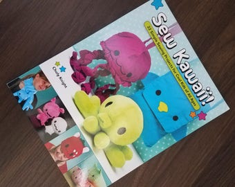 Sew Kawaii by Choly Knight - Sewing Book Destash - Crafting Book