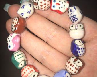 Owly friendship bracelet