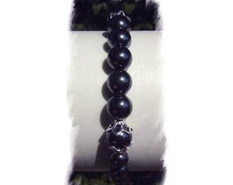 HEMATITE and Silver 925 bracelet