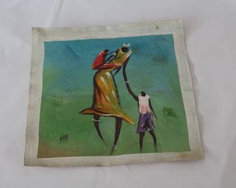 Vibrant African Paint /Art