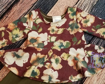 Girls's Spring Floral Outfit 2T