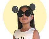 Gaga Mickey Flip-up Sunglasses