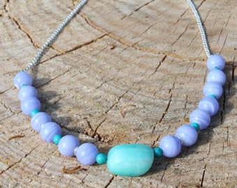 Cooling Throat Chakra Necklace