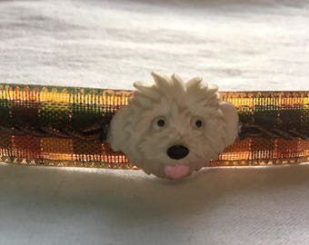 Gorgeous Handmade Puppy Dog Barrettes!