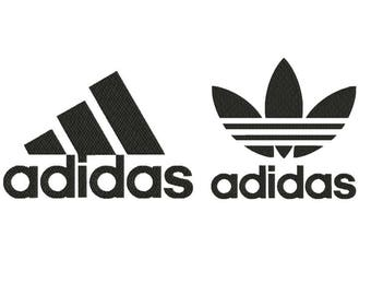 Adidas embroidery design, adidas embroidery, sport embroidery design, machine embroidery designs, instant download, embroidery designs
