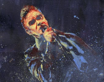 "Morrissey 6X6"" painting"