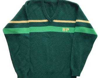 Vintage 80s BP Knit Sweatshirt Jumper