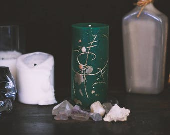 Prosperity Spell Candle