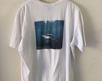 Vintage Nautica Shark tee