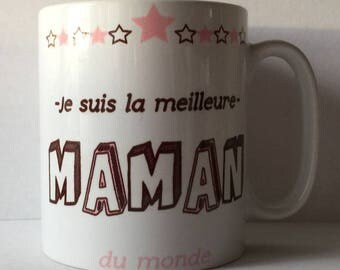 mug or Cup personalized with the best MOM