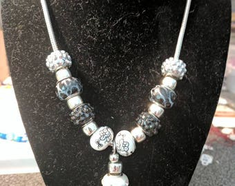 """Beaded 20"""" necklace"""
