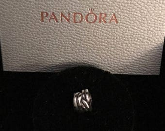 790484 - Forget Me Knot Authentic Pandora Charm (RETIRED)