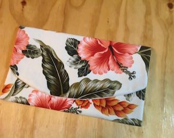Tropical Hibiscus Clutch