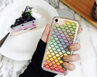 Mermaid iPhone6 Case Glitter cellphone case iPhone case