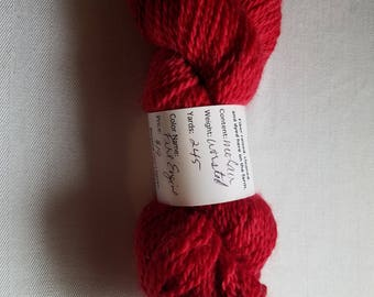 worsted weight mohair (and merino --50/50) yarn