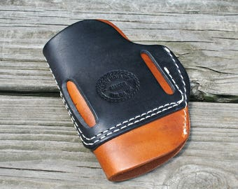 Saddle Leather Semi Auto Holster
