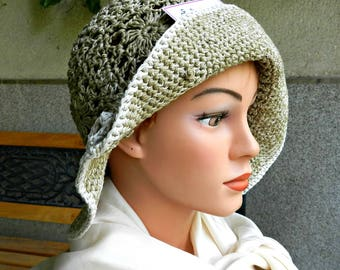 Crochet summer hat