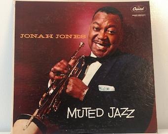 1957 Jonah Jones Muted Jazz Vinyl Record Vtg. Good Condition