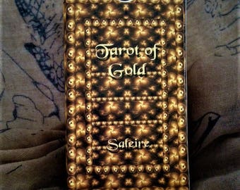 Tarot of Gold Visconti based Tarot Deck by Saleire used