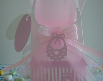 Box of sweets or confectionery baby girl to make you even (sold without sweets)