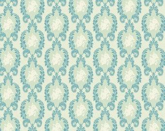 Fabric coupon 50/35 cm, TILDA, vintage orn BLUE