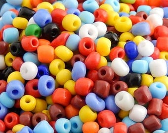 500 color seed beads