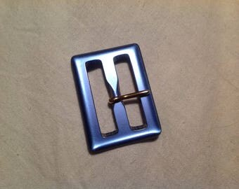 Small belt buckle vintage rectangular