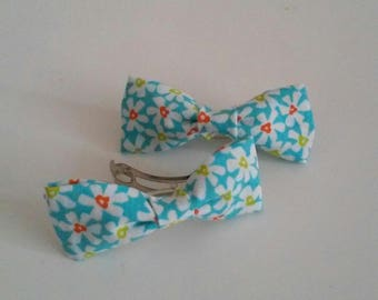 Small turquoise Barrette