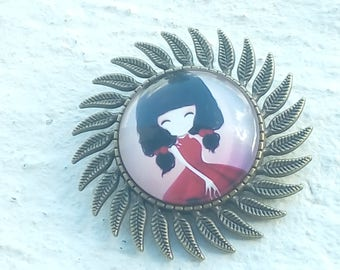 Enter your jewelry: brooch - ring or pendant kawaii