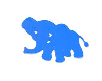 Cut scrapbooking baby elephant