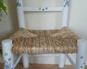 White straw Chair